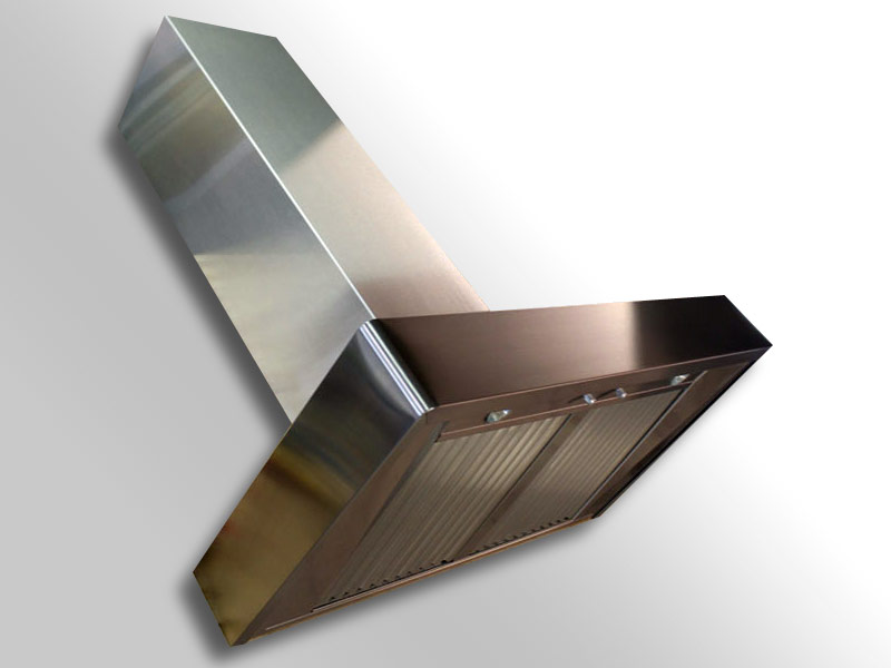 Wall mounted Cosmopolitan with a brushed stainless steel body.