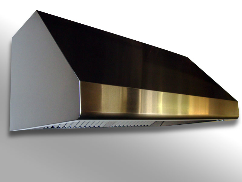 Wall mounted Slim Line with a brushed stainless steel body.